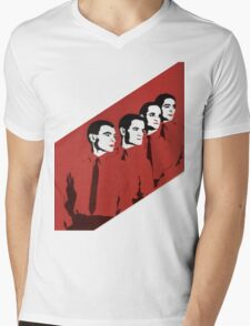 Kraftwerk Man Machine T-Shirt Mens V-Neck T-Shirt