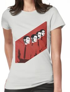 Kraftwerk Man Machine T-Shirt Womens Fitted T-Shirt