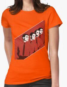 Kraftwerk Man Machine T-Shirt Womens Fitted T-Shirt