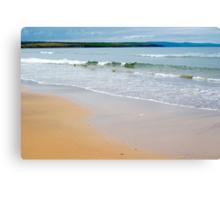 ballybunion beach near the cashen Canvas Print