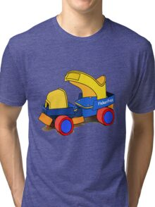 Fisher Price Rollerskate Tri-blend T-Shirt