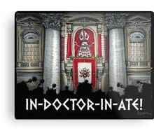Dalek Pope XVII Metal Print