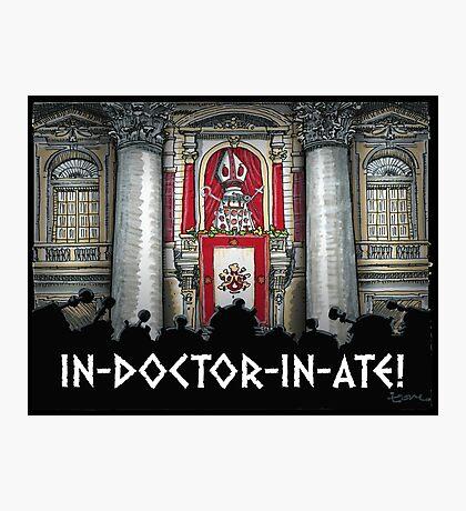 Dalek Pope XVII Photographic Print