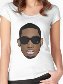 Tinie Tempah - Cartoon Women's Fitted Scoop T-Shirt