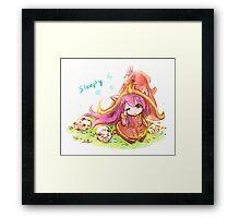 Lulu fan art Framed Print