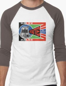 Dalek Deconstructivism Men's Baseball ¾ T-Shirt