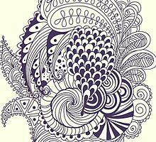 Abstract doodle by julkapulka