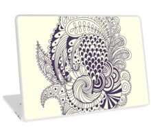 Abstract doodle Laptop Skin
