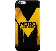 Metro Last Night iPhone Case/Skin