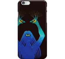 Third Eye Yoga Peacock Pose iPhone Case/Skin