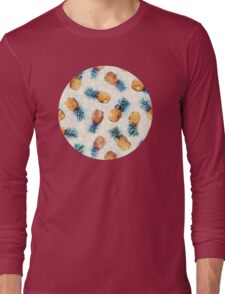 Pineapples + Crystals Long Sleeve T-Shirt