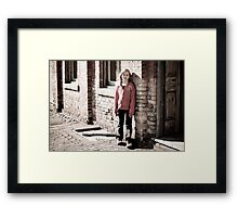Ashley Framed Print