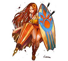 Leona fan art pool party Photographic Print