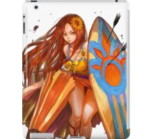 Leona fan art pool party iPad Case/Skin