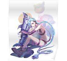 Jinx fan art Poster