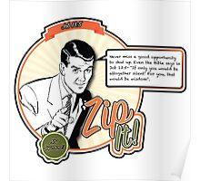 Zip It! - Job 13:5 Poster