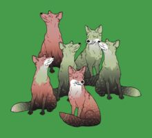 Sleeping foxes Kids Clothes