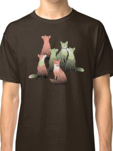 Sleeping foxes Classic T-Shirt