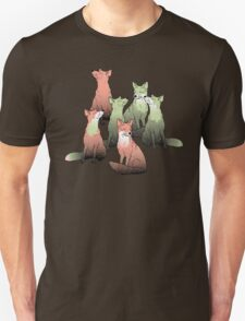 Sleeping foxes Unisex T-Shirt