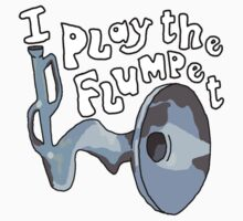 I play the Flumpet - The Flumps Kids Tee