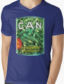 Can Ege Bamyasi T-Shirt Mens V-Neck T-Shirt