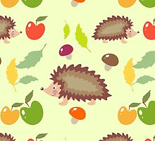 Hedgehog pattern by julkapulka