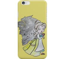 The Beauty and The Beast - Draw iPhone Case/Skin