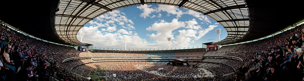 Weather with You - Sound Relief Melbourne - Panorama by Alexander Kesselaar