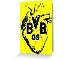 Borussia Heart Greeting Card