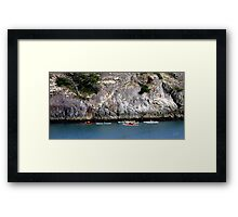 Bowman Bay Kayakers One Framed Print