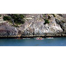 Bowman Bay Kayakers One Photographic Print