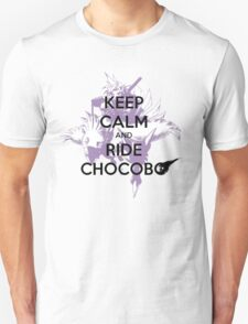 Keep Calm & Ride Chocobo T-Shirt