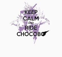 Keep Calm & Ride Chocobo Mens V-Neck T-Shirt