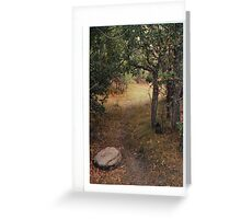 Quiet Trail Greeting Card