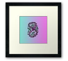 Figure of eight Framed Print
