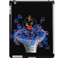 Who put soap in the bird bath? iPad Case/Skin