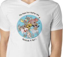 The Hope For A Better Life Mens V-Neck T-Shirt