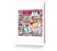 Candy sweet candy Greeting Card
