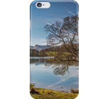 Loughrigg Tarn and Tree iPhone Case/Skin