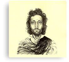 Vincent Gallo Canvas Print