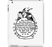 What's your sign  iPad Case/Skin