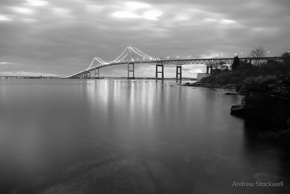 Claiborne Pell Sunrise Black and White by Andrew Stockwell