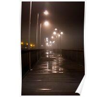Damp Riverwalk Poster