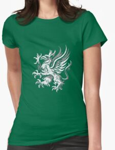 Dragon Age Grey Warden  Womens Fitted T-Shirt