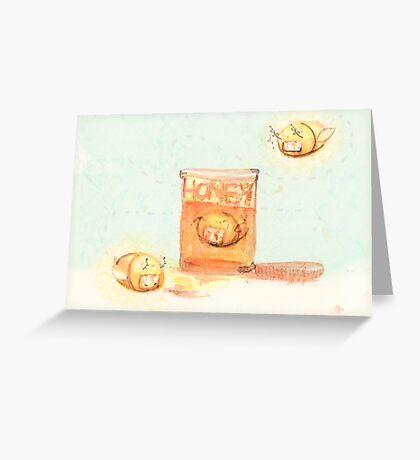 A Sweet Death  Greeting Card