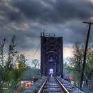 Atchafalaya Train Bridge by steini