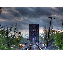 Atchafalaya Train Bridge Photographic Print