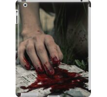 Ode To Horror: Evidence iPad Case/Skin