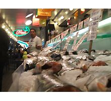 Pikes place fish market Photographic Print
