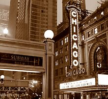 Chicago Theatre by Alison Simpson